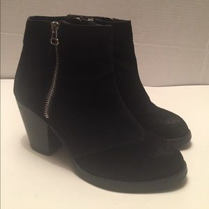 Shoemint leather bootie
